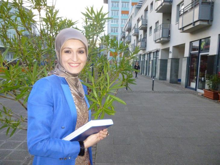 Halide Ozkurt (photo: Ulrike Hummel)