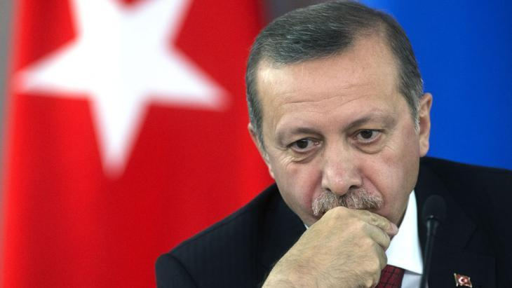 Turkish Prime Minister Recep Tayyip Erdogan (photo: picture-alliance/RIA Novosti/dpa)