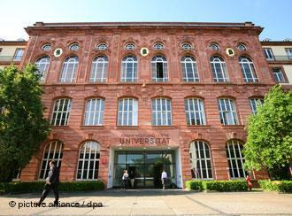 A building at Goethe University in Frankfurt am Main (photo: picture-alliance/dpa)