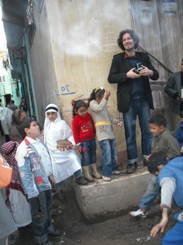 Samuli Schielke (photo: Bassem Abu Gweili)