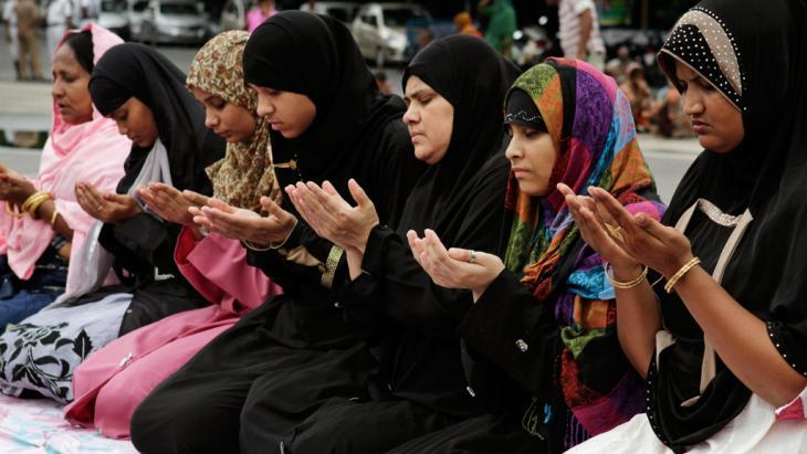 Indian Muslim women in Kolkata (photo: picture alliance/AP)