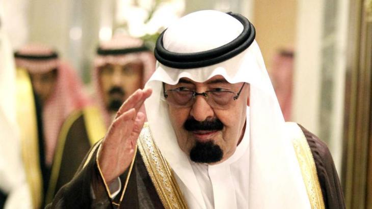 The Saudi king, Abdullah bin Abd al-Aziz (photo: dpa)