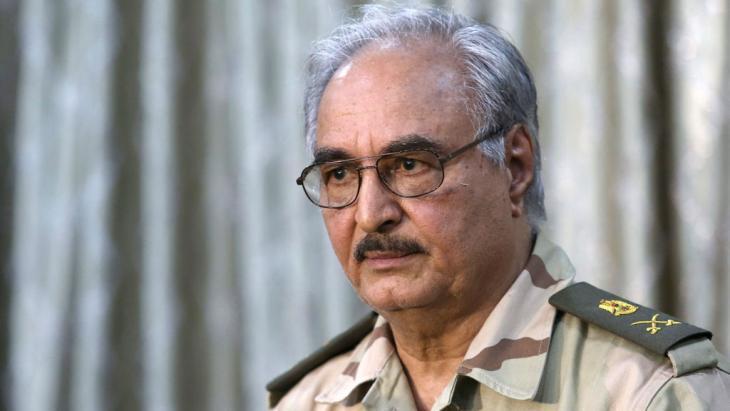 Khalifa Haftar (photo: Reuters)