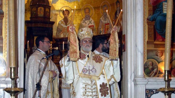 Patriarch Gregorios III Laham of Antioch (photo: SANA)