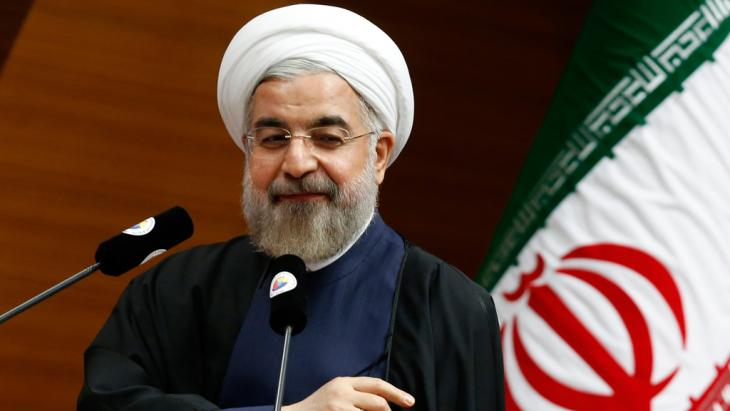 Hassan Rouhani (photo: Reuters)