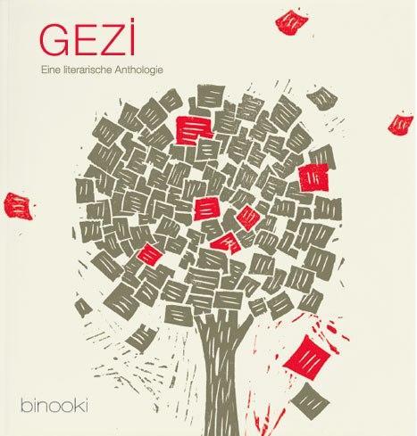 """Buchcover """"Gezi – Eine literarische Anthologie"""" im Verlag Binooki"""