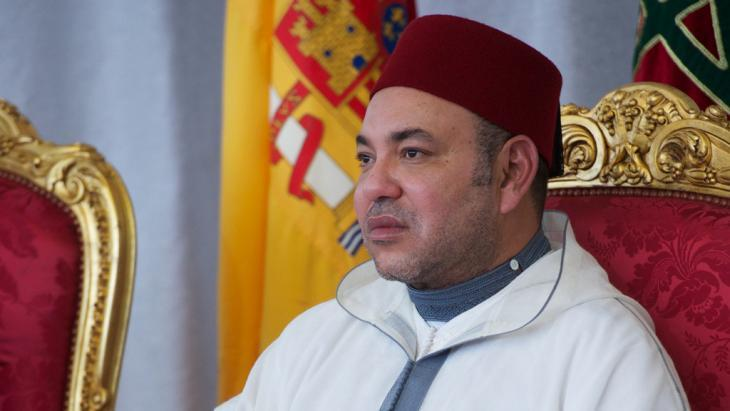 Morocco's King Mohammed VI (photo: Getty Images)