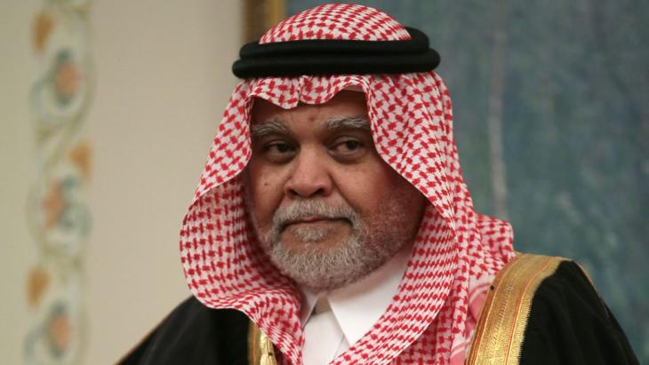 The former of the Saudi secret service, Prince Bandar bin Sultan. Photo: picture-alliance/dpa