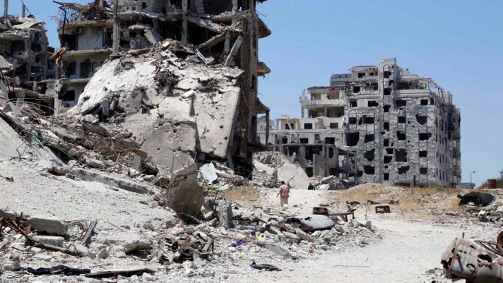 Homs in ruins. Photo: Reuters/Omar Sanadiki