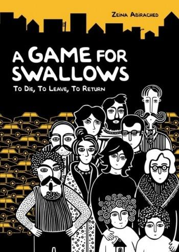 "Cover of ""A Game for Swallows"" by Zeina Abirached, published by Graphic Universe"