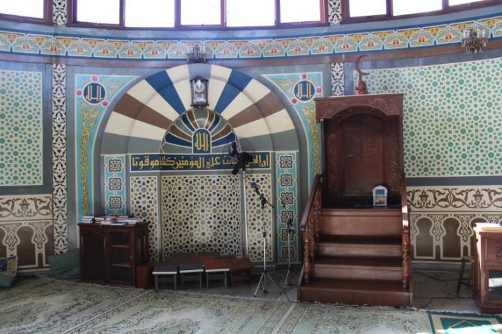 View of the mihrab of the Jundiai mosque. Photo: Ekrem Güzeldere