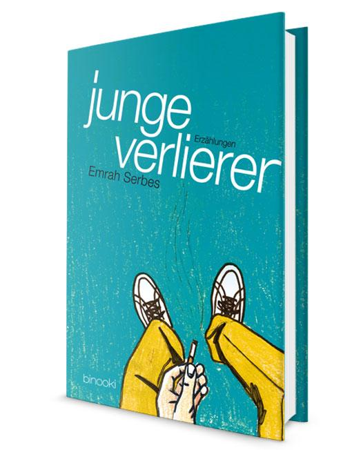 "German book cover of ""Young Losers"": Photo: binooki.com"