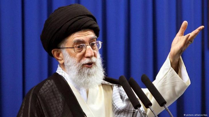 Ayatollah Ali Khameini. Photo: picture-alliance/dpa