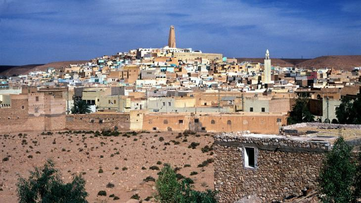 Ghardaia, capital of Ghardaia Province, in Algeria (photo: picture-alliance/dpa)