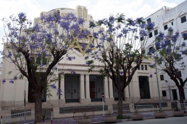 Major synagogue in Tunis (photo: Sarah Mersch)