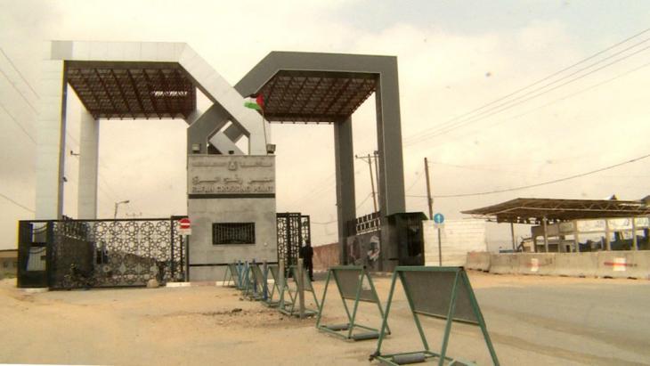 The border crossing at Rafah (photo: DW/Tanja Krämer)