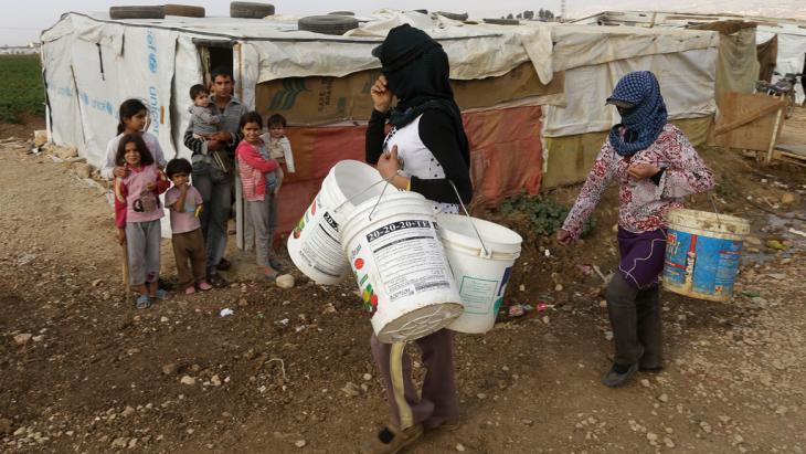 Syrian refugees in Lebanon (photo: AP Photo/Hussein Malla)