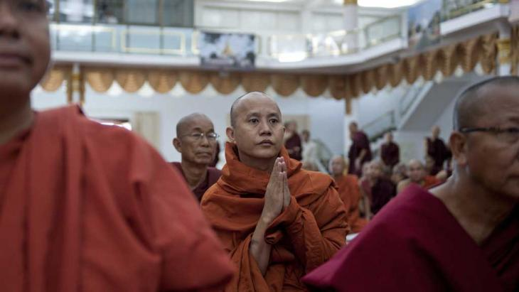 Monk Ashin Wirathu (photo: Ye Aung Thu/AFP/Getty Images)