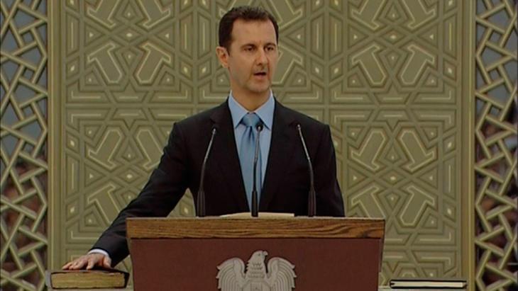 Syrian President Bashar al-Assad (photo: Reuters/Syria TV)