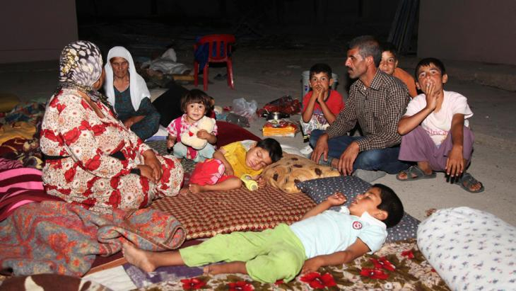 Yazidi refugees in Dohuk province (photo: Reuters)