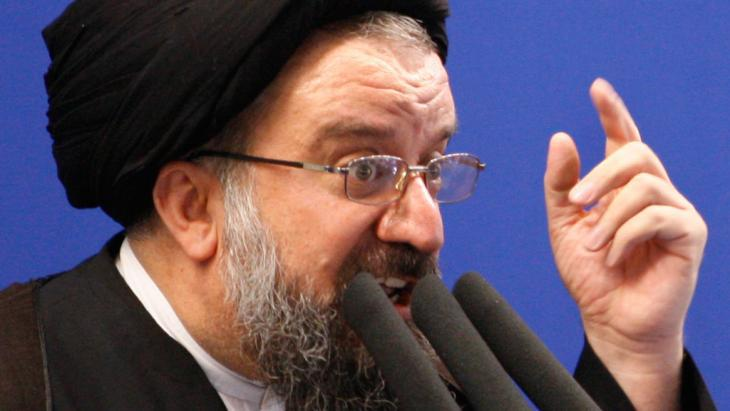 Ayatollah Ahmad Khatami (photo: AP)
