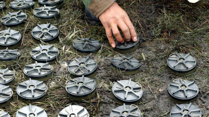Anti-personnel mines (photo: picture-alliance/dpa)