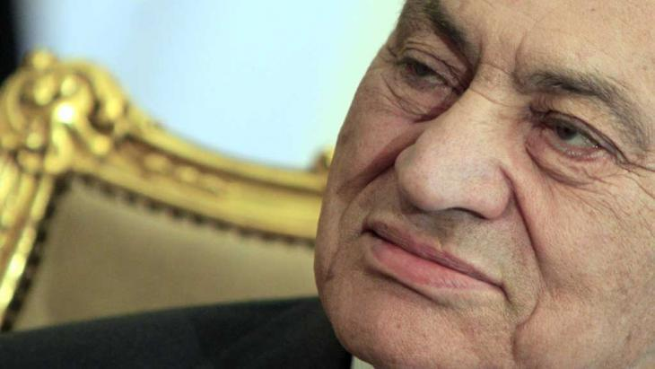 Former Egyptian President Hosni Mubarak (photo: AP)