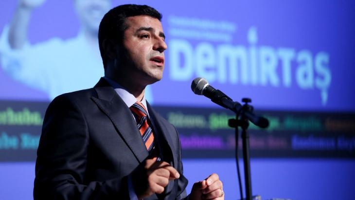 Selahattin Demirtas of the Peoples' Democratic Party, HDP (photo: dpa)