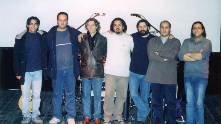 The Iranian rock band Barad (photo: Hermes Records)