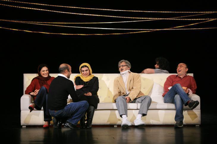 "A photo of Amir Reza Kohestani's production of Chekhov's ""Ivanov"" (photo: Mani Lotfizadeh)"