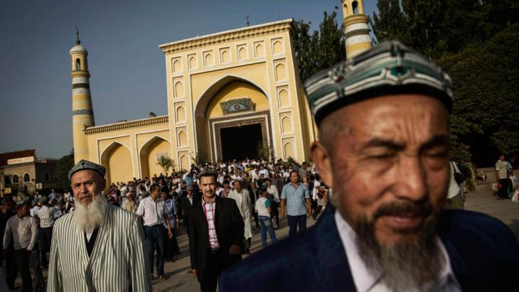 Uighurs in Kashgar (photo: Getty Images)