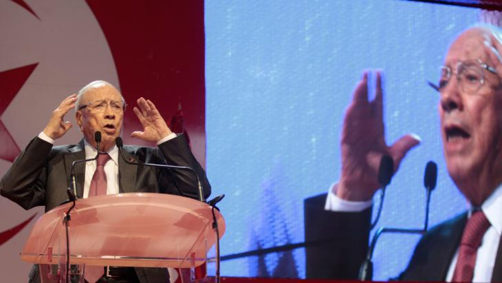 Beji Caid Essebsi (photo: Reuters/Z. Souissi)