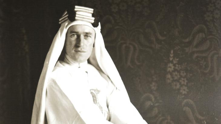T. E. Lawrence, known to many as Lawrence of Arabia (photo: picture-alliance/dpa)