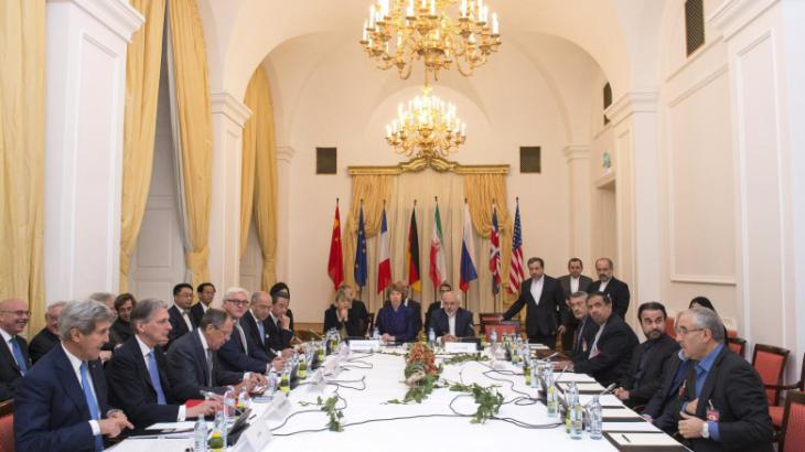 Nuclear negotiation session in Vienna, November 2014 (photo: AP)