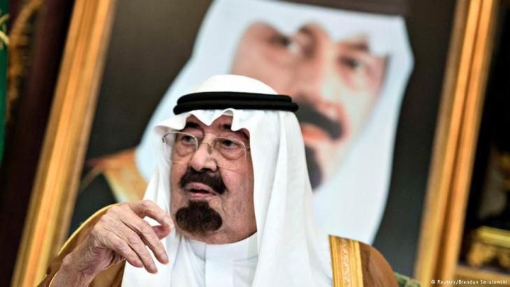 King Abdullah Bin-Abd-al-Aziz Al Saud (photo: Reuters/Brendan Smialowski)