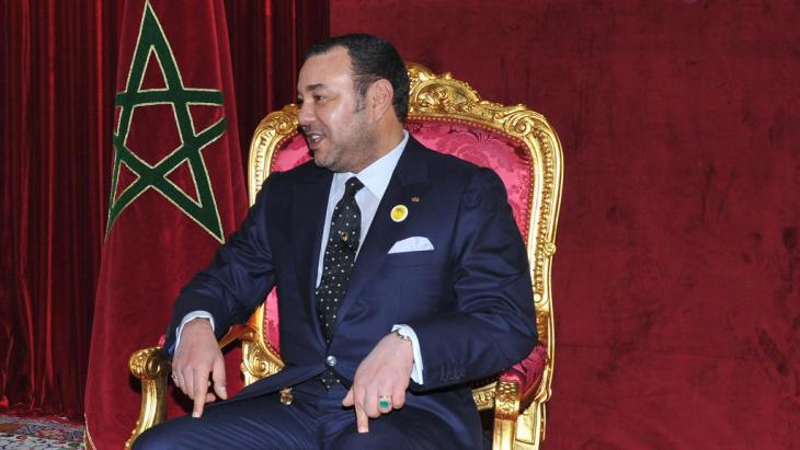 King Mohammed VI (photo: AP)
