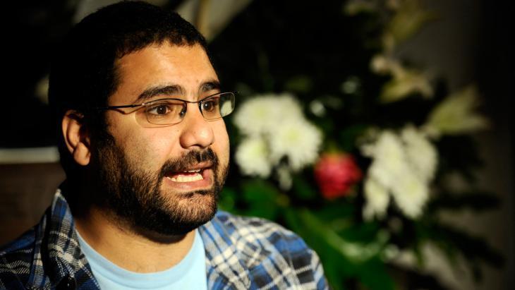 Alaa Abdel-Fattah (photo: Filippo Monteforte/AFP/Getty Images)
