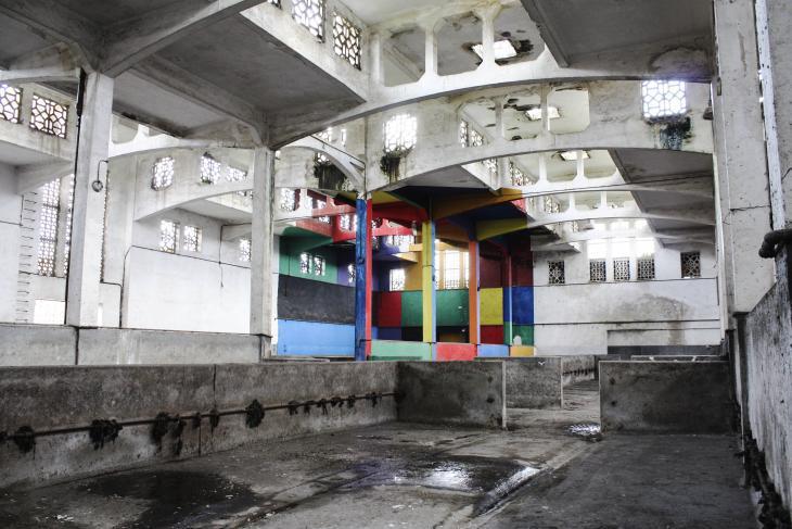 "The culture factory ""Les Abbatoirs"" in Casablanca (photo: © Aicha El Beloui)"