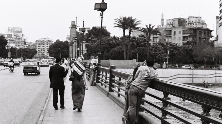Couples on a bridge (photo: Samuli Schielke)