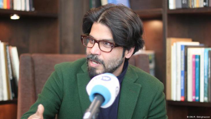 Pankaj Mishra (photo: DW/R. Ebbighausen)