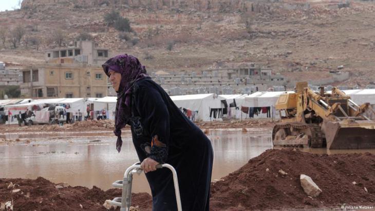 Syrian refugee Samar in Arsal, Lebanon (photo: Juliane Metzker)