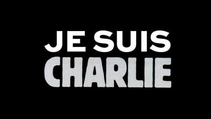 "Screenshot of the now famous ""Je Suis Charlie"" logo (source: charliehebdo.fr)"