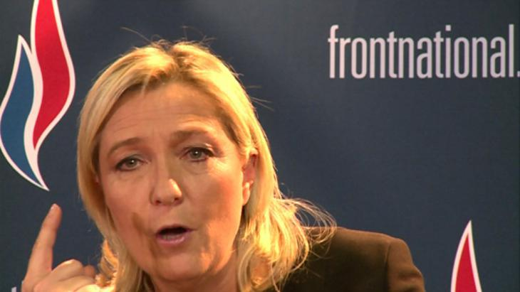 Marine Le Pen of the Front National (photo: DW/M. Luy)
