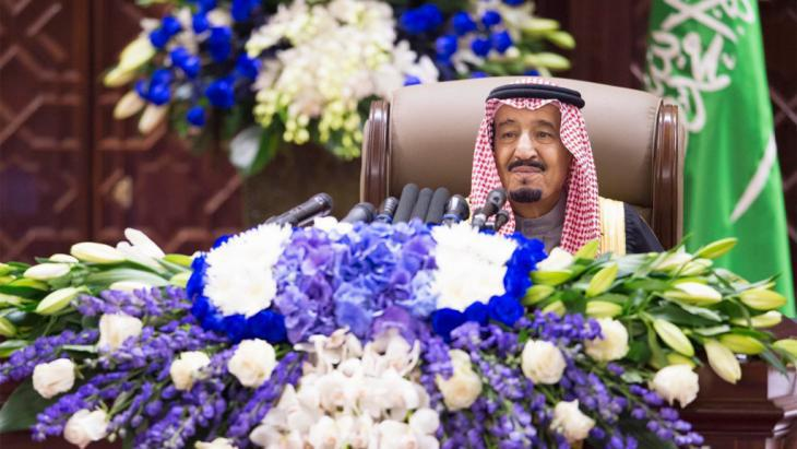 King Salman of Saudi Arabia, who succeeded his half-bother last week (photo: picture-alliance/Photoshot)