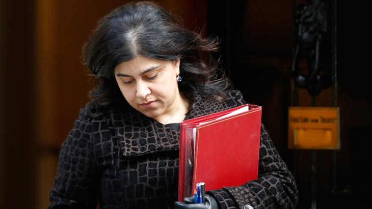 Sayeeda Warsi (photo: Reuters)