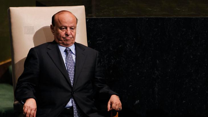 President Abd Rabbu Mansour Hadi (photo: picture-alliance/AP/J. DeCrow )