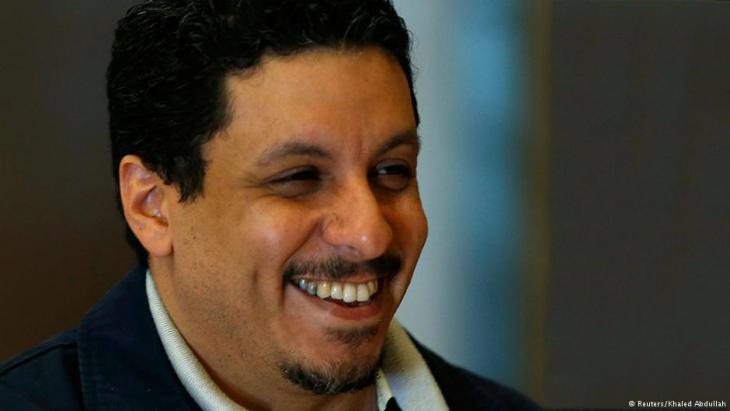 Ahmad Awad bin Mubarak (photo: Reuters/Khaled Abdullah)