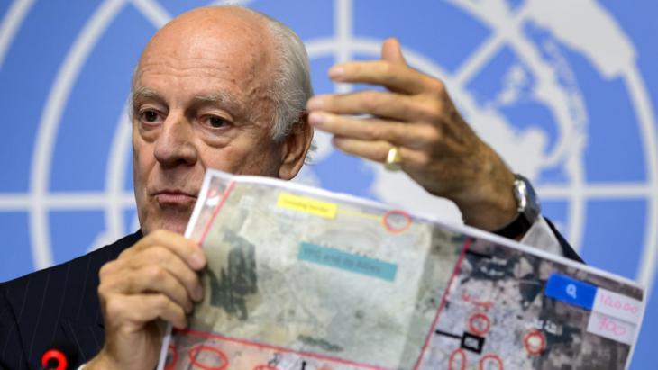 Staffan de Mistura (photo: Fabrice Coffrini/AFP/Getty Images)