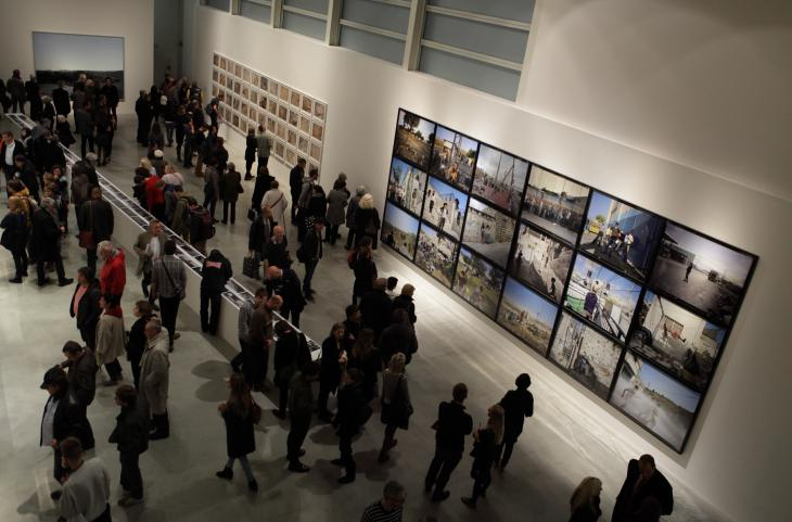"View of the exhibition ""This Place"" at the Dox Center for Contemporary Art in Prague (photo: Felix Koltermann)"