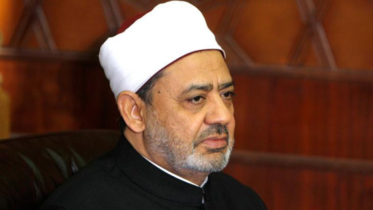 Sheikh Ahmed al-Tayeb, the Grand Imam of al-Azhar University in Egypt (photo: Reuters)